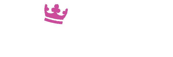 カジ旅の白ロゴ